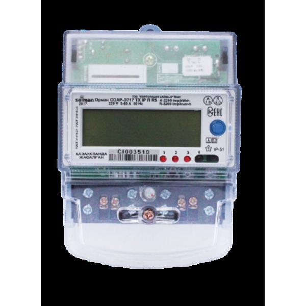 CO-Э711 TX IP П RS (5-60А) Орман 1ф. 3 тариф. Saiman